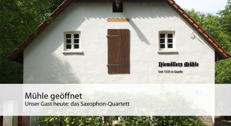mühle saxophon quartett